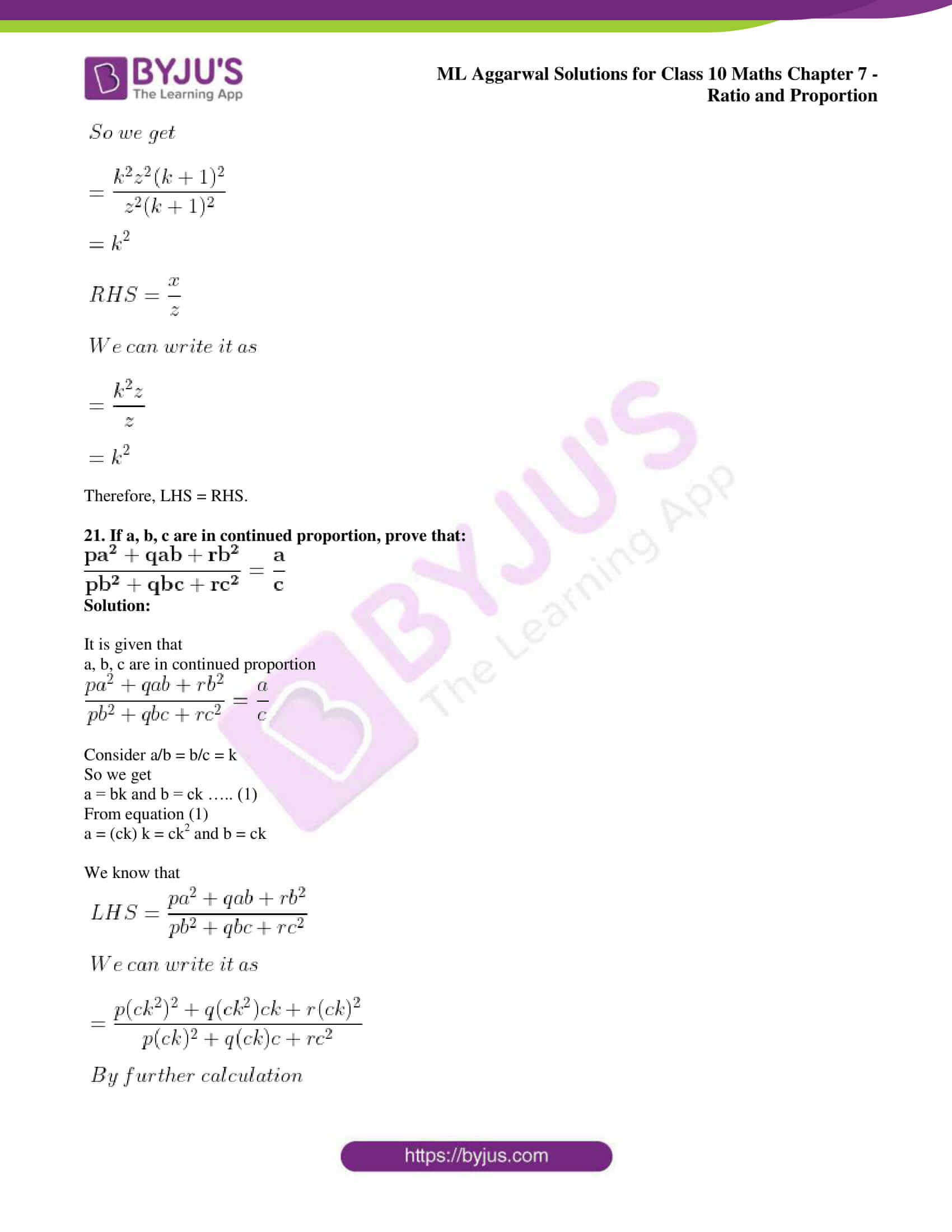 ml aggarwal solutions for class 10 maths chapter 7 35