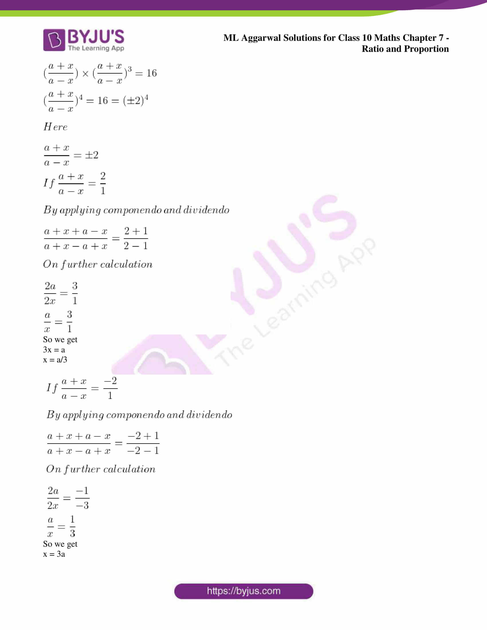 ml aggarwal solutions for class 10 maths chapter 7 62