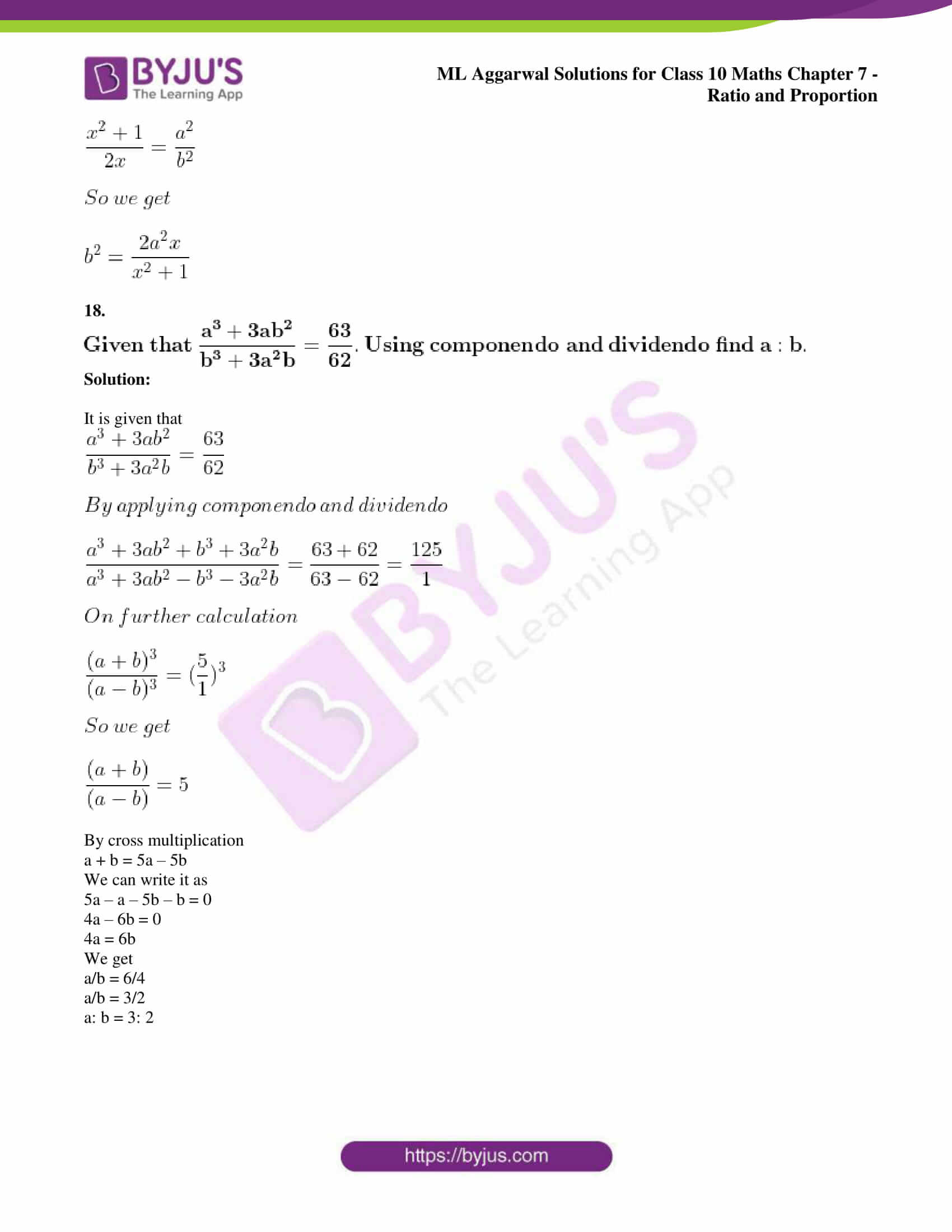 ml aggarwal solutions for class 10 maths chapter 7 65