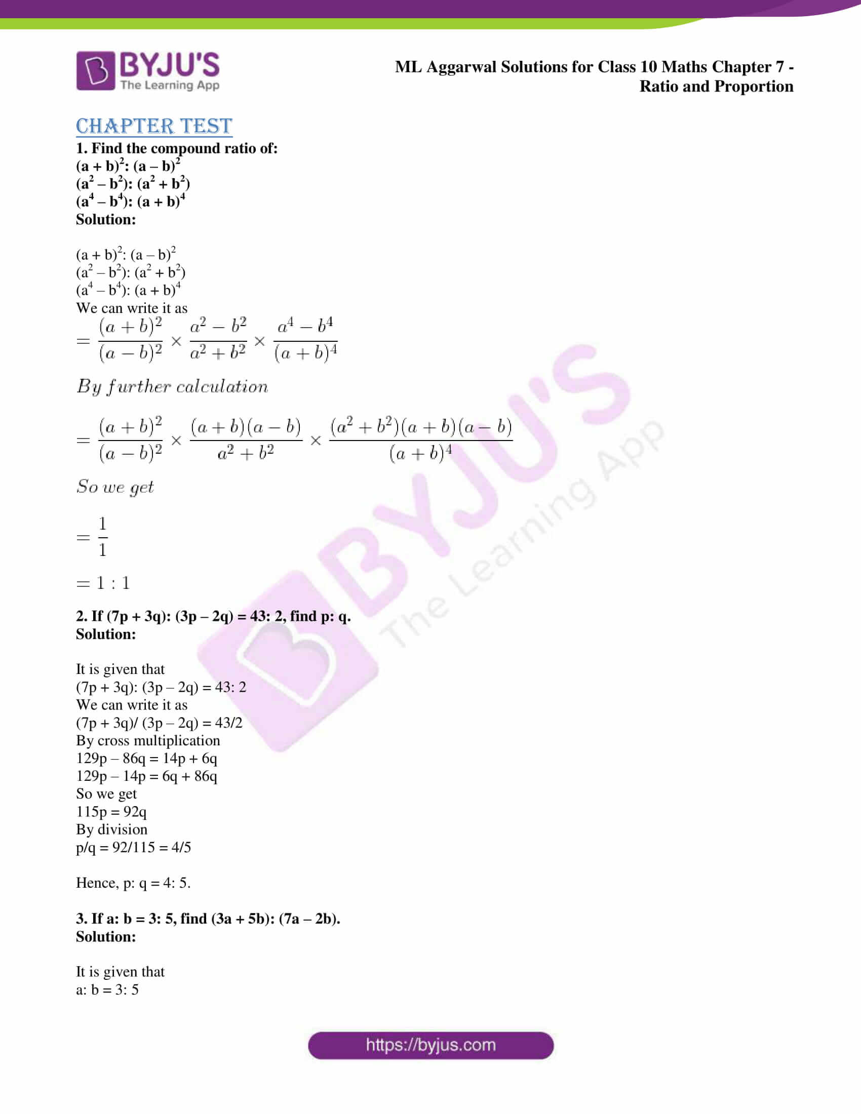 ml aggarwal solutions for class 10 maths chapter 7 69