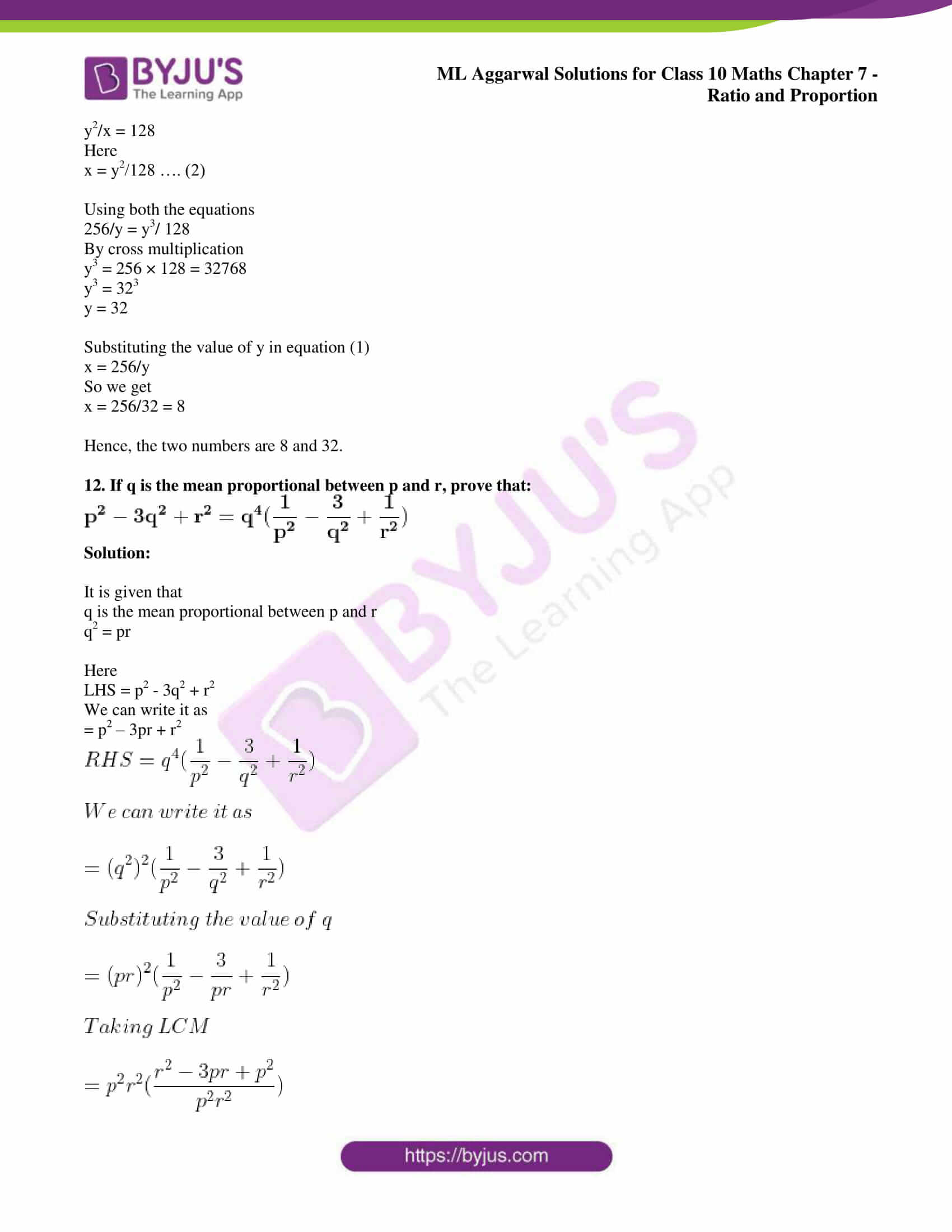 ml aggarwal solutions for class 10 maths chapter 7 74