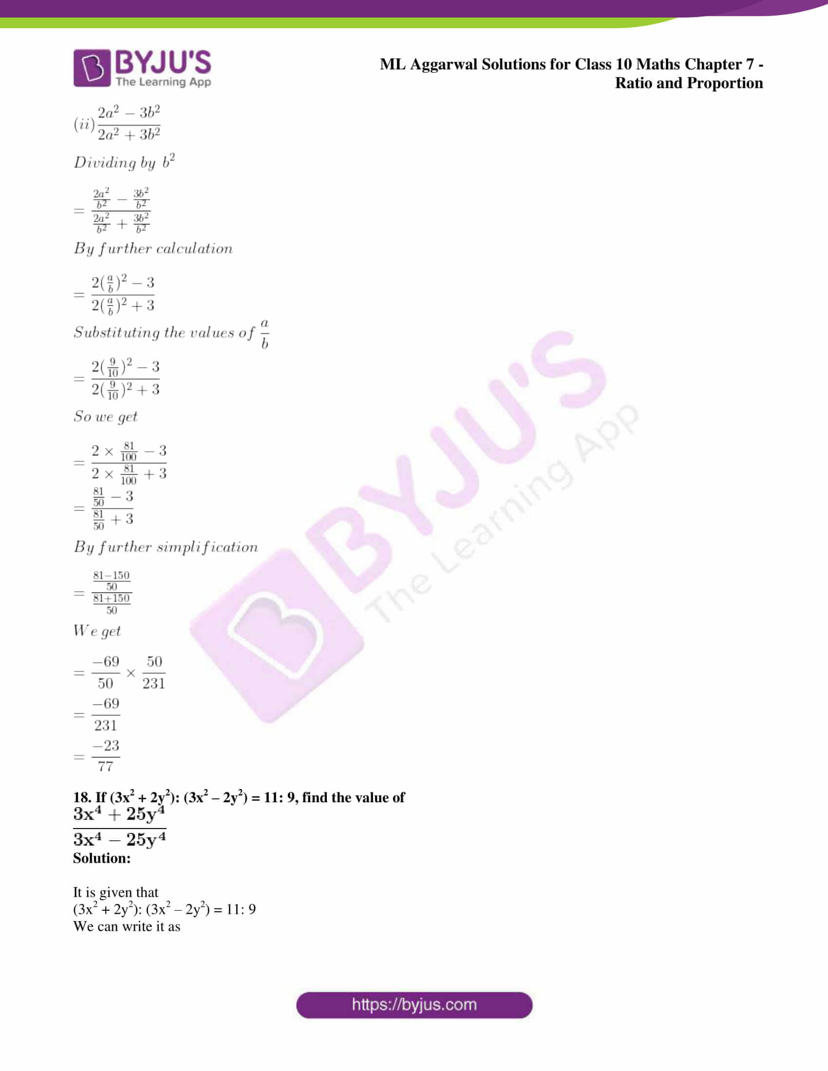 ml aggarwal solutions for class 10 maths chapter 7 80