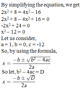 ML Aggarwal Solutions for Class 10 Maths Quadratic Equations in One Variable- image 12