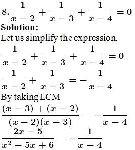 ML Aggarwal Solutions for Class 10 Maths Quadratic Equations in One Variable- image 19