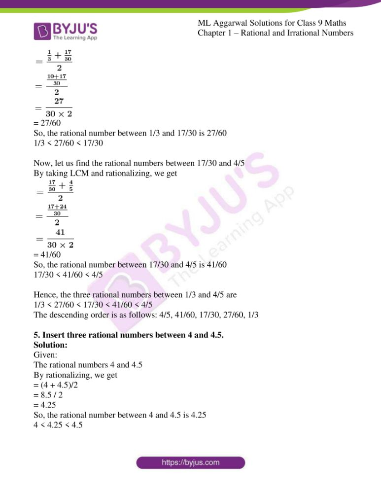 ml aggarwal solutions for class 9 maths chapter 1 04