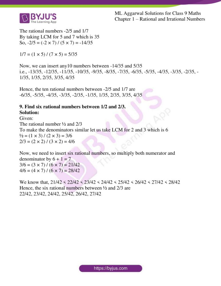 ml aggarwal solutions for class 9 maths chapter 1 07