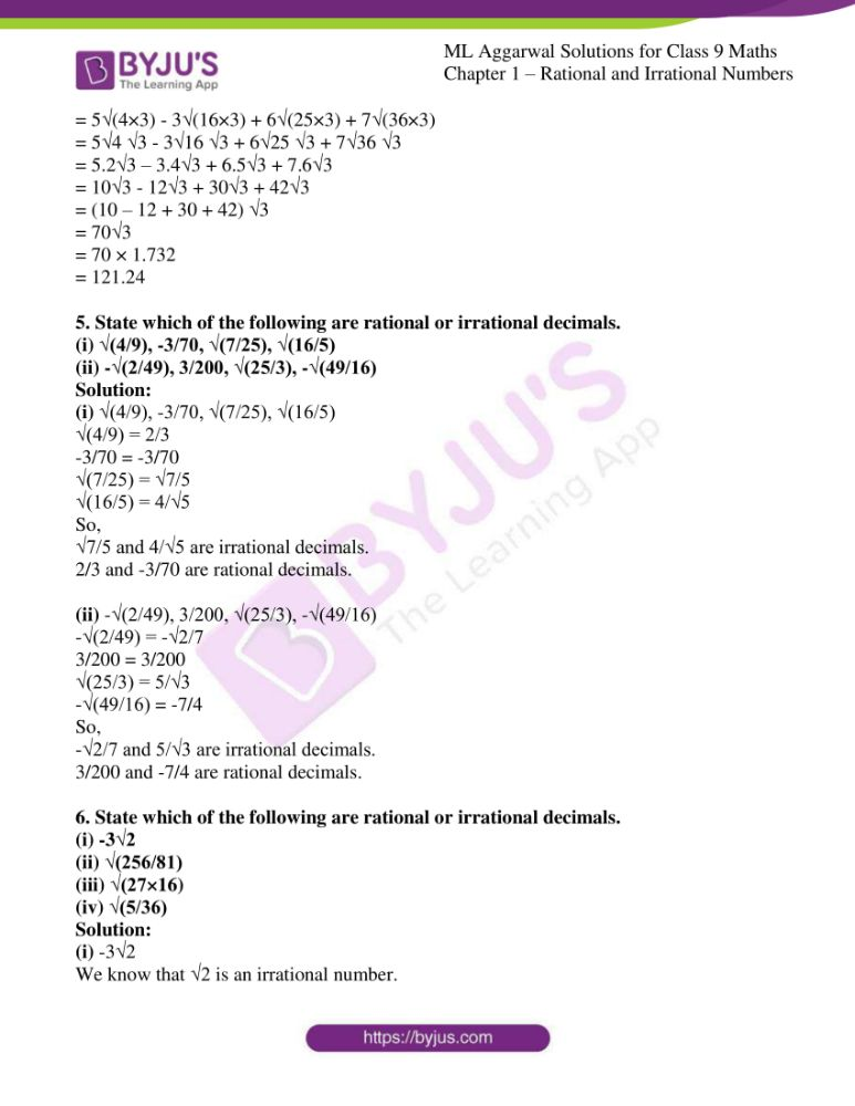 ml aggarwal solutions for class 9 maths chapter 1 40