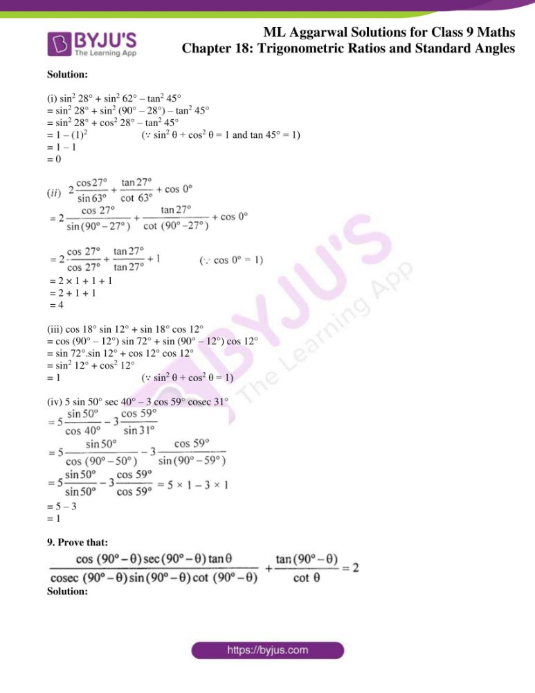 ml aggarwal solutions for class 9 maths chapter 18 06