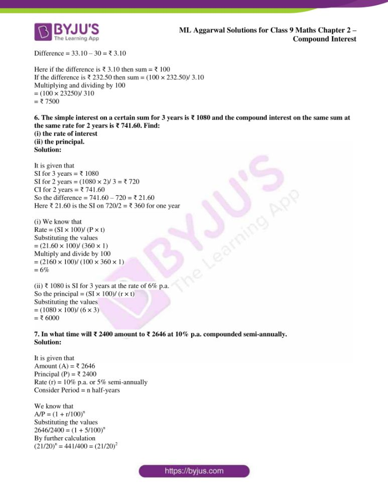 ml aggarwal solutions for class 9 maths chapter 2 40