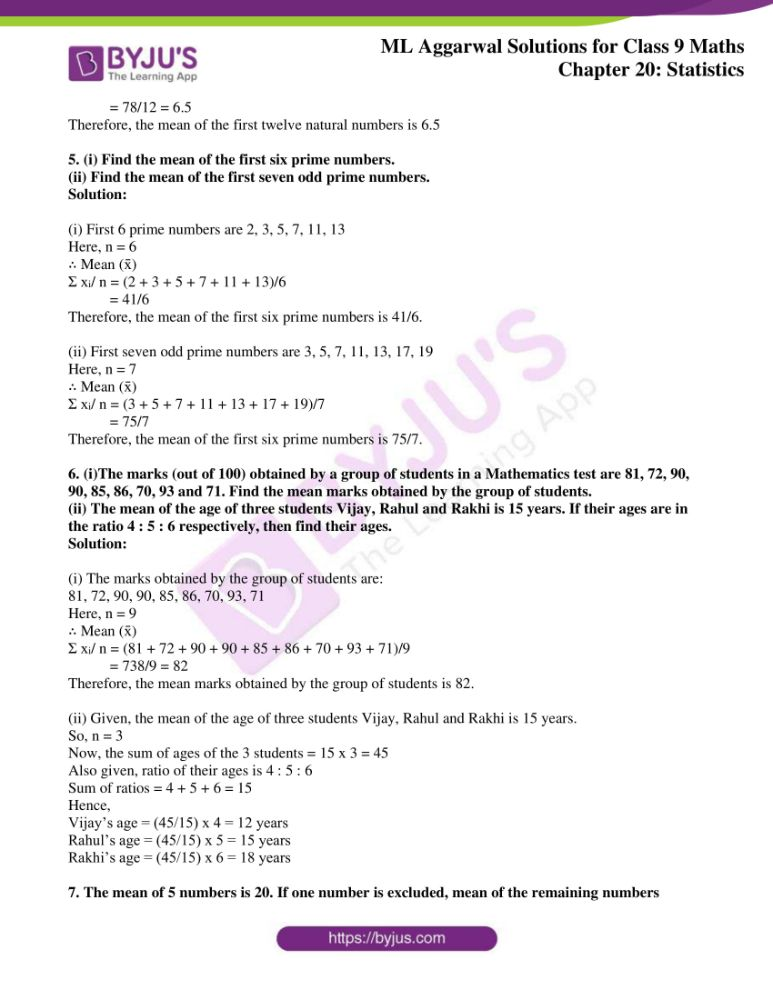 ml aggarwal solutions for class 9 maths chapter 20 02