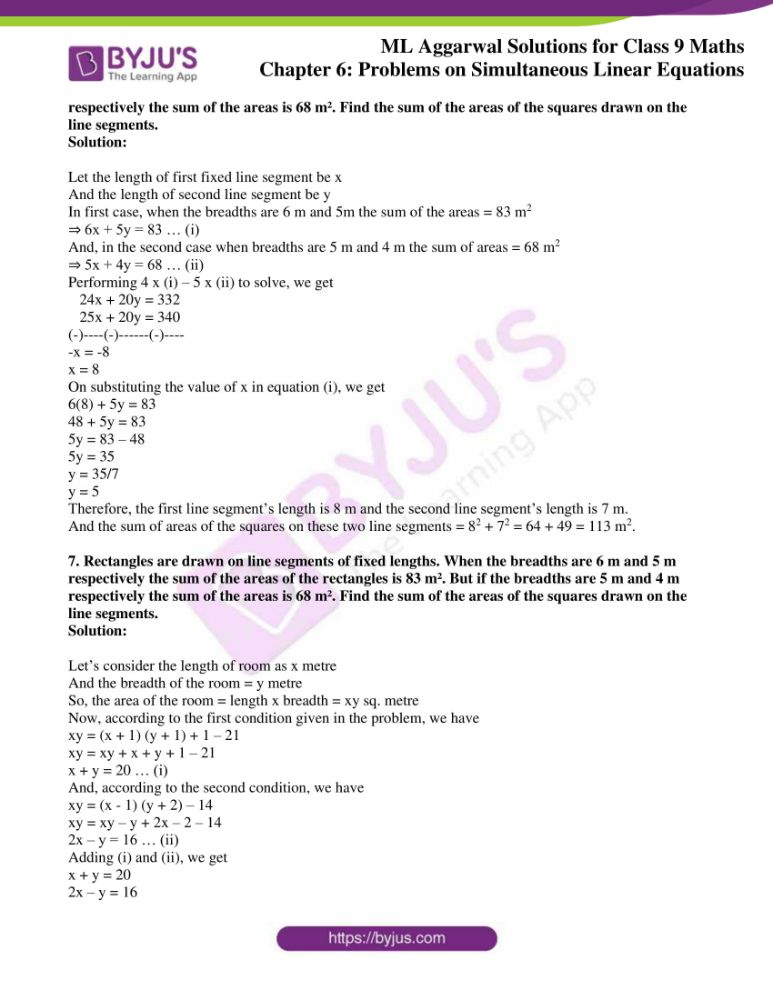 ml aggarwal solutions for class 9 maths chapter 6 24
