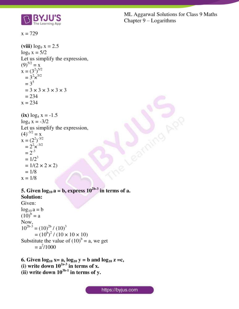 ml aggarwal solutions for class 9 maths chapter 9 07