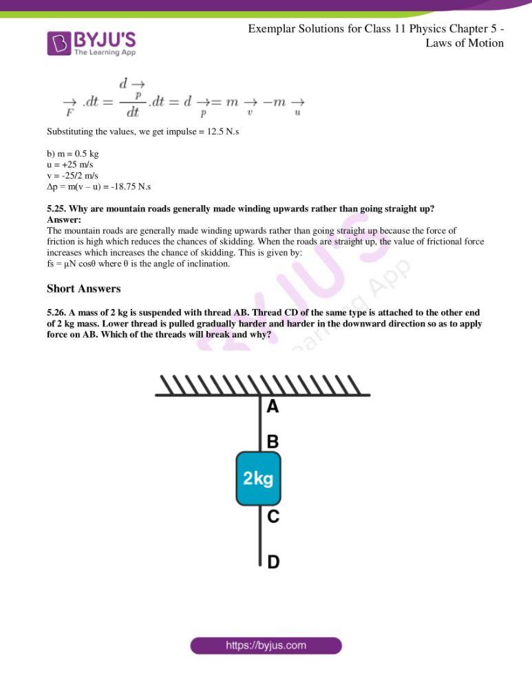 ncert exemplar class 11 phy chapter 5 10