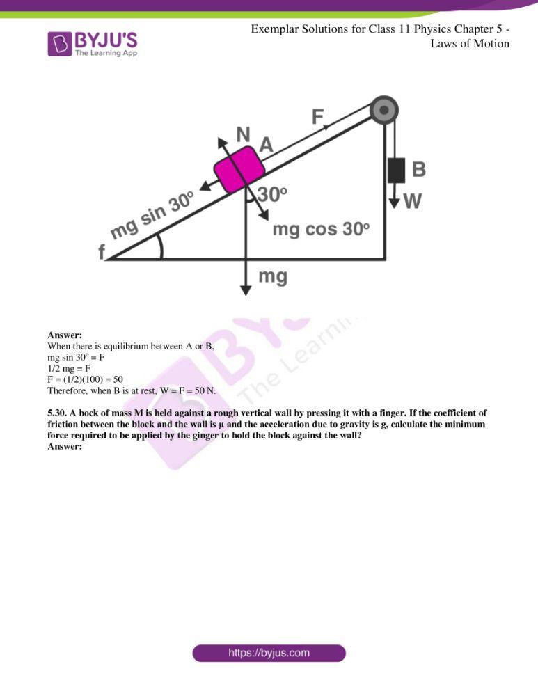 ncert exemplar class 11 phy chapter 5 13