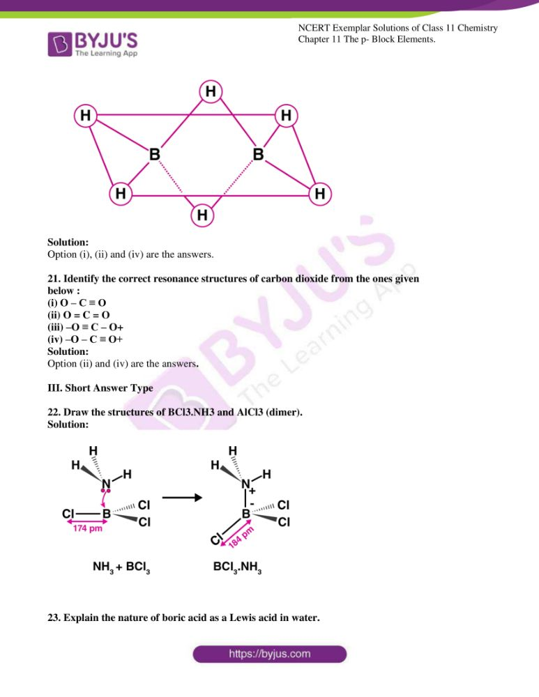 ncert exemplar solutions for class 11 chemistry ch 11 p block 05
