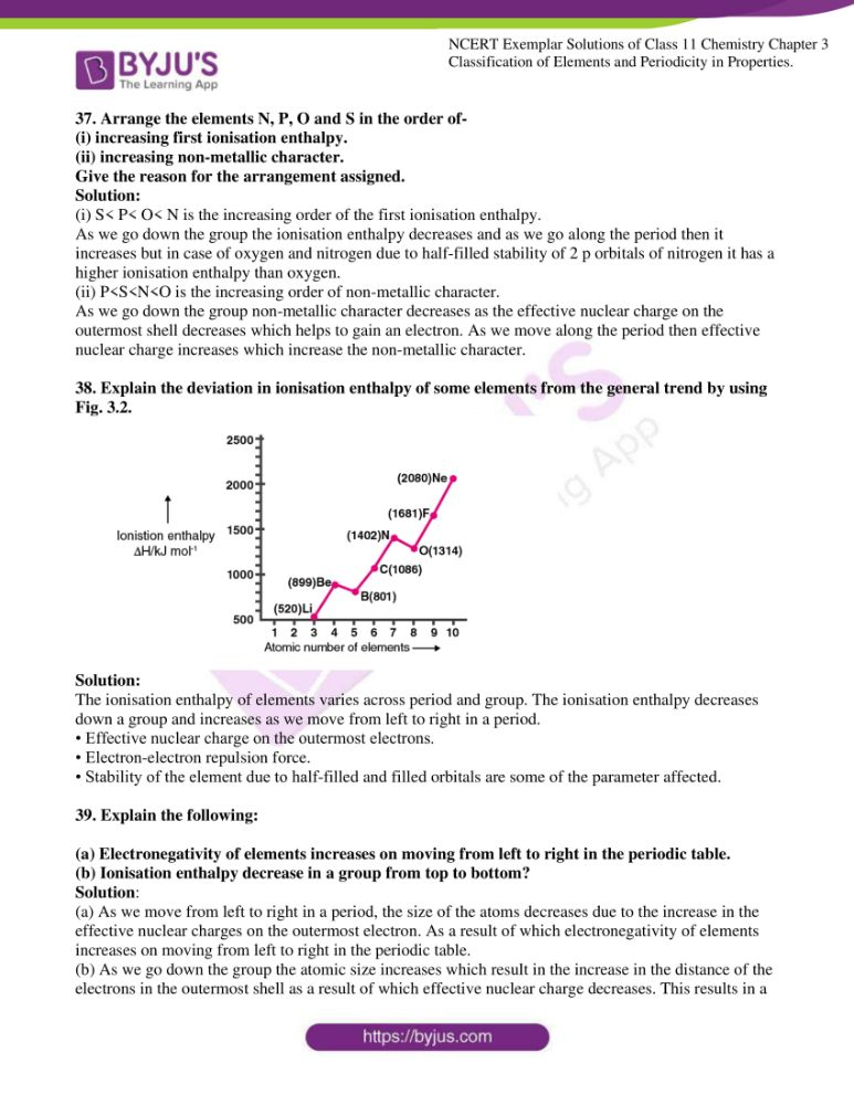ncert exemplar solutions for class 11 chemistry ch 3 classification 10