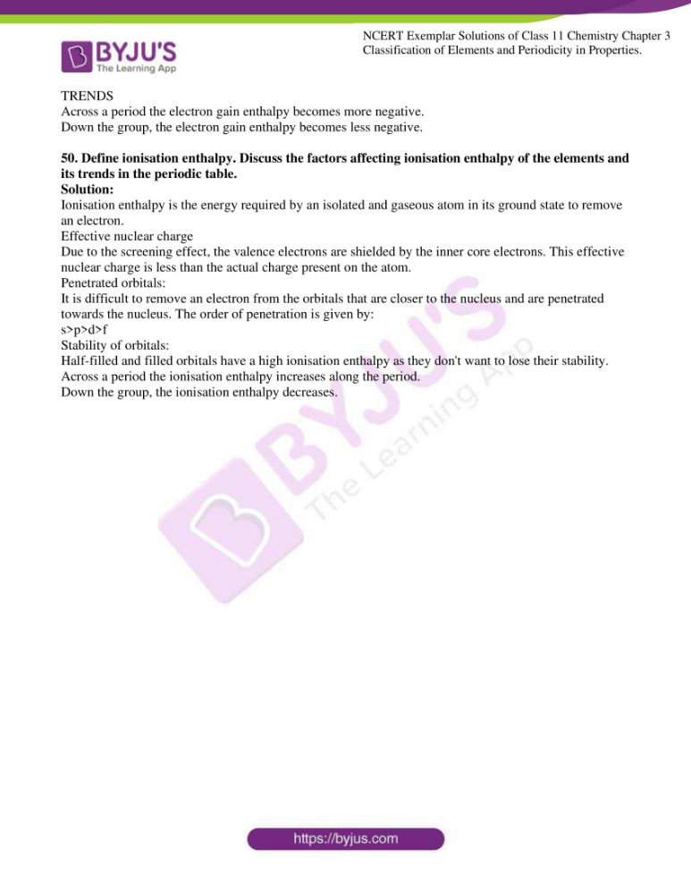 ncert exemplar solutions for class 11 chemistry ch 3 classification 14