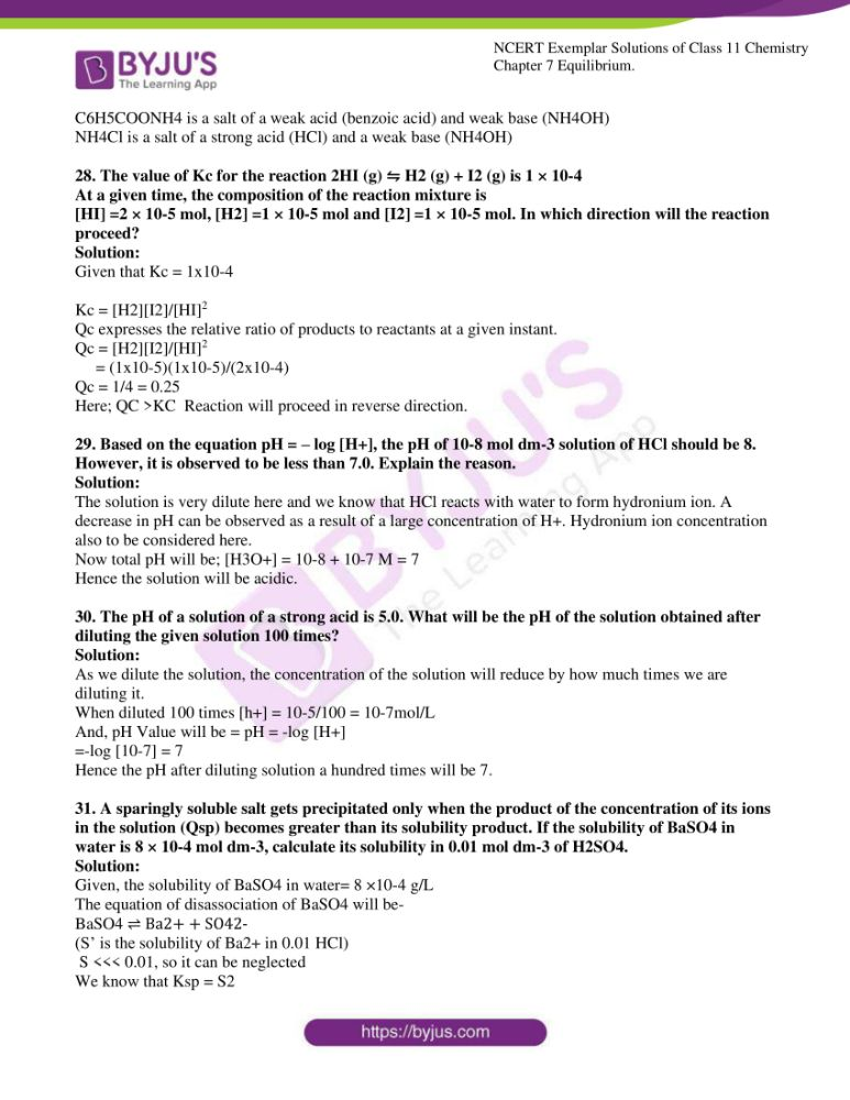 ncert exemplar solutions for class 11 chemistry ch 7 equilibrium 07
