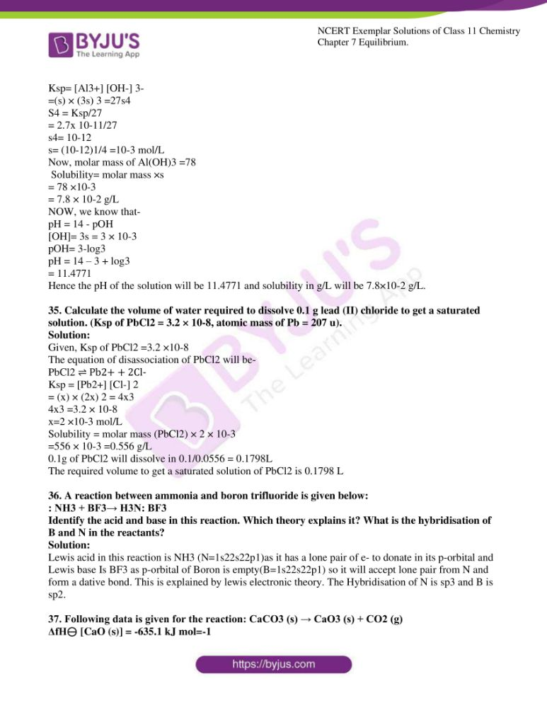 ncert exemplar solutions for class 11 chemistry ch 7 equilibrium 09