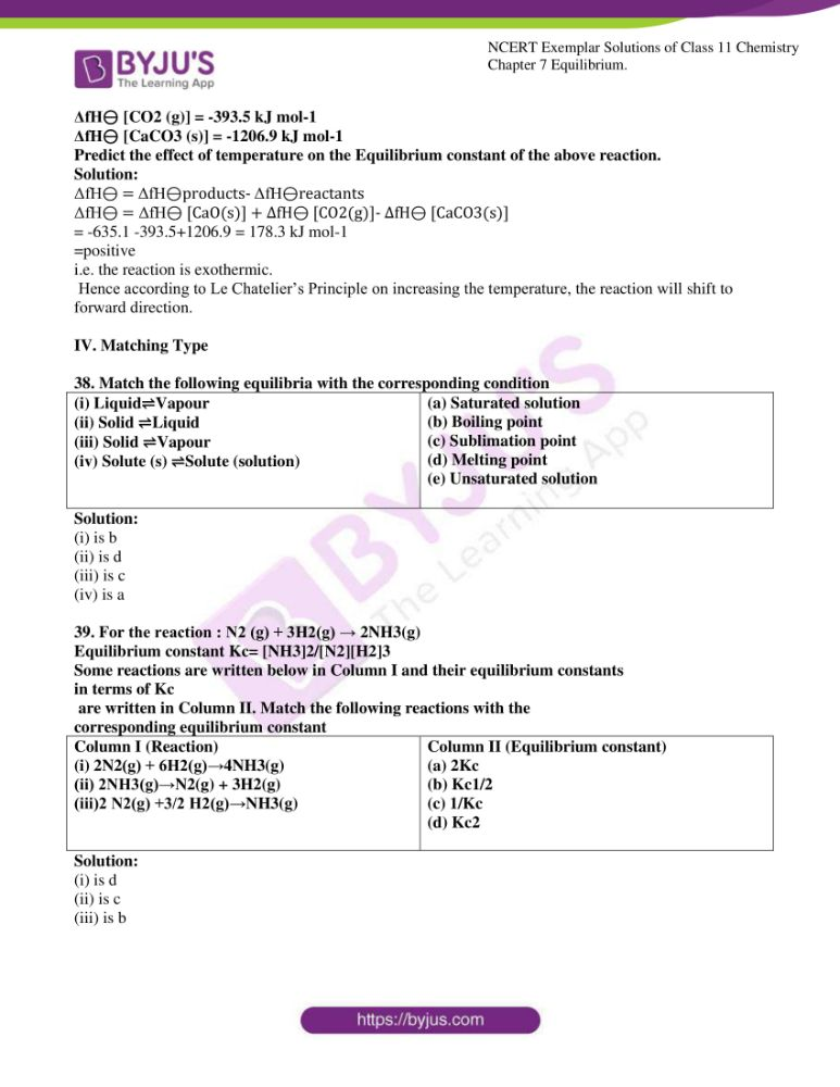 ncert exemplar solutions for class 11 chemistry ch 7 equilibrium 10