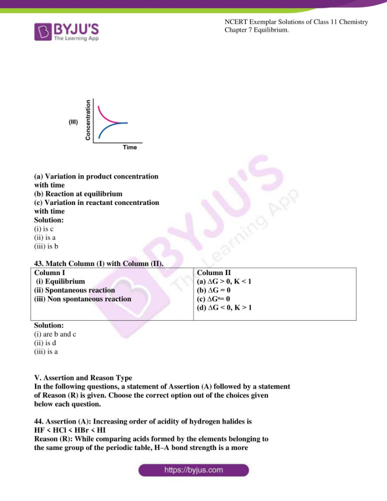 ncert exemplar solutions for class 11 chemistry ch 7 equilibrium 12