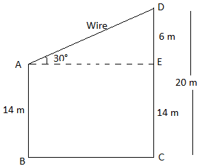 RBSE class 10 maths chapter 8 imp que 6 sol