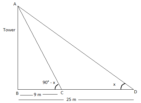RBSE class 10 maths chapter 8 important Q3 sol