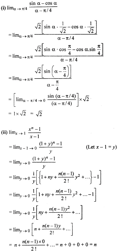 RBSE Class 11 Maths Solutions Chapter 10 Exercise 10.2 Question Number 2