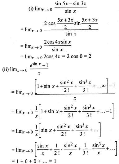 RBSE Class 11 Maths Solutions Chapter 10 Exercise 10.2 Question Number 6