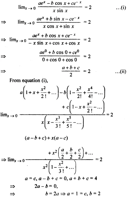 RBSE Class 11 Maths Solutions Chapter 10 Misc Exercise Question Number 20