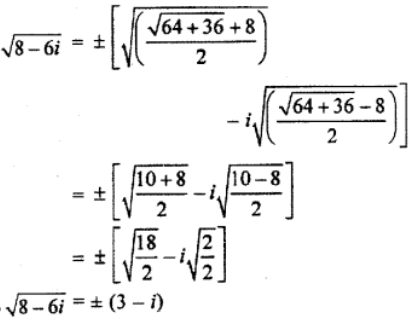 RBSE Class 11 Maths Solutions Chapter 5 Exercise 5.3 Question Number 1b