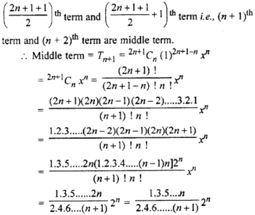 RBSE Class 11 Maths Solutions Chapter 8 Exercise 7.2 Question Number 5
