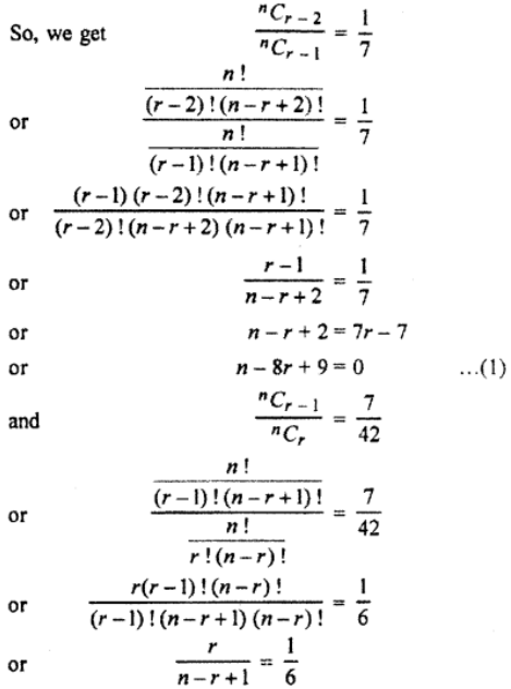 RBSE Class 11 Maths Solutions Chapter 8 Exercise 7.2 Question Number 9