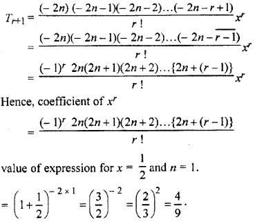 RBSE Class 11 Maths Solutions Chapter 8 Exercise 7.4 Question Number 7
