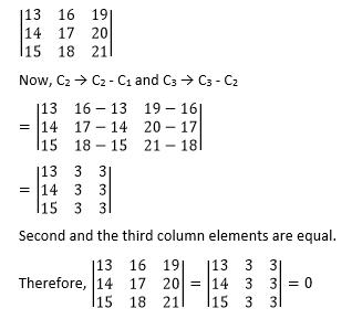 RBSE Class 12 Maths chapter 4 imp que 6 sol