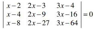 RBSE class 12 maths chapter 4 imp que 7