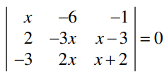 RBSE class 12 maths chapter 4 important Q5