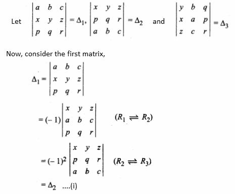 RBSE class 12 maths chapter 8 imp que 8.1 sol