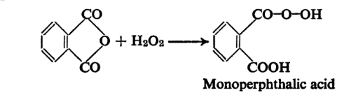Reactions of Phthalic Anhydride