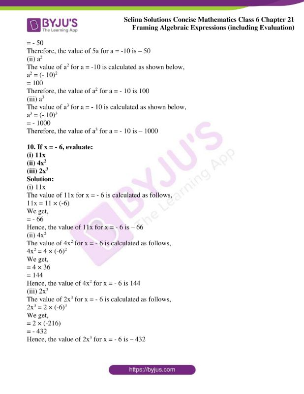 selina solutions concise mathematics class 6 chapter 21 06