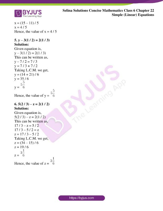 selina solutions concise mathematics class 6 chapter 22 ex c 2