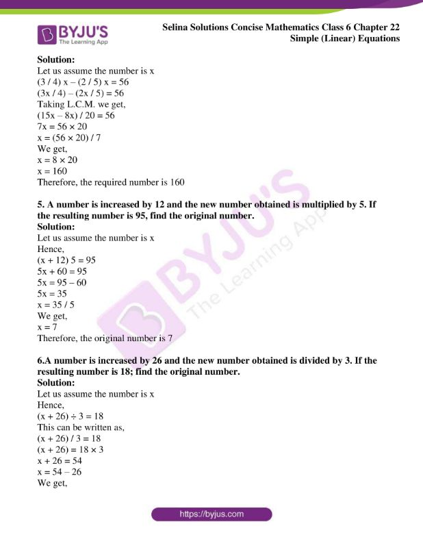 selina solutions concise mathematics class 6 chapter 22 ex d 2