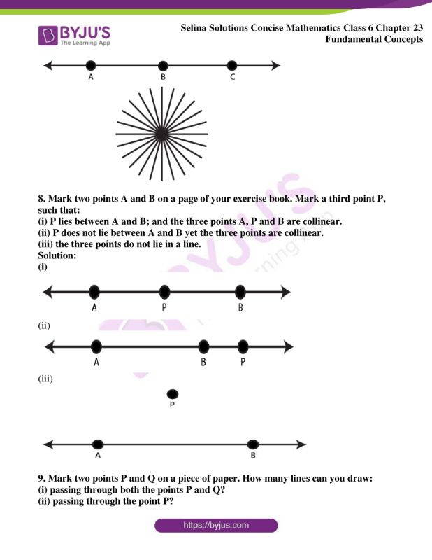 selina solutions concise mathematics class 6 chapter 23 ex a 05