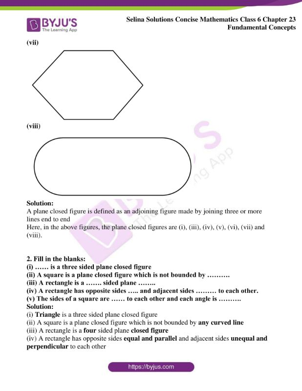 selina solutions concise mathematics class 6 chapter 23 ex b 3