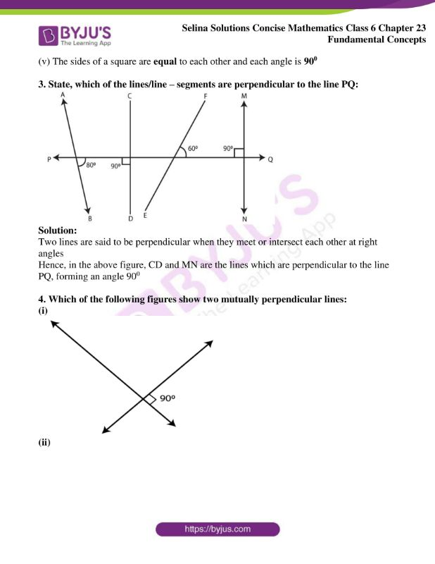 selina solutions concise mathematics class 6 chapter 23 ex b 4