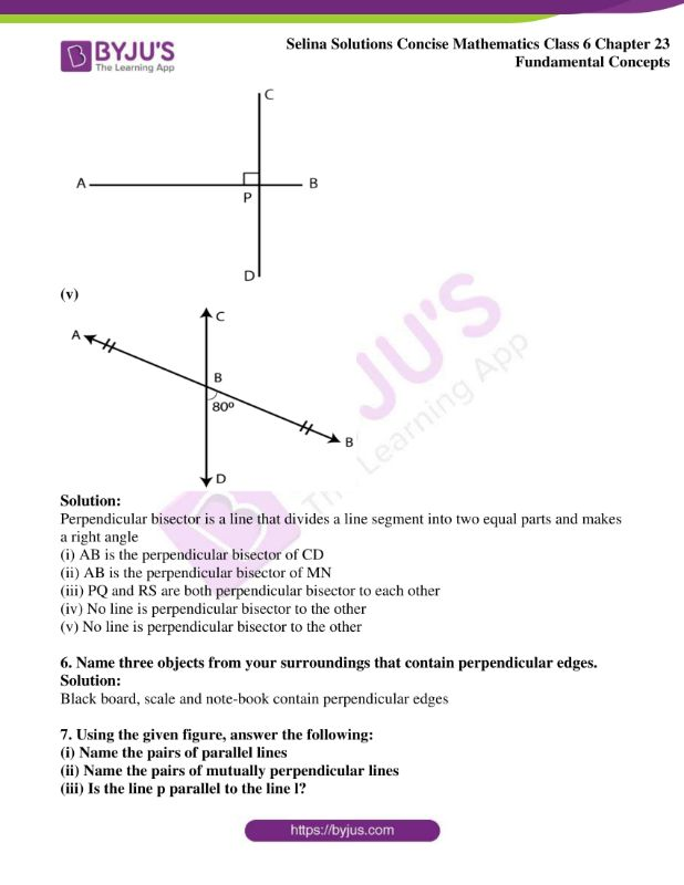 selina solutions concise mathematics class 6 chapter 23 ex b 7