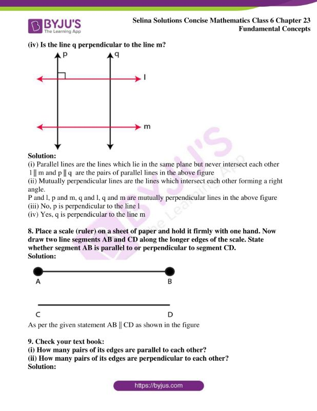 selina solutions concise mathematics class 6 chapter 23 ex b 8
