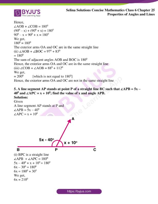selina solutions concise mathematics class 6 chapter 25 ex a 5