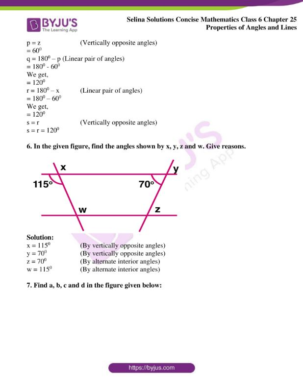 selina solutions concise mathematics class 6 chapter 25 ex b 08
