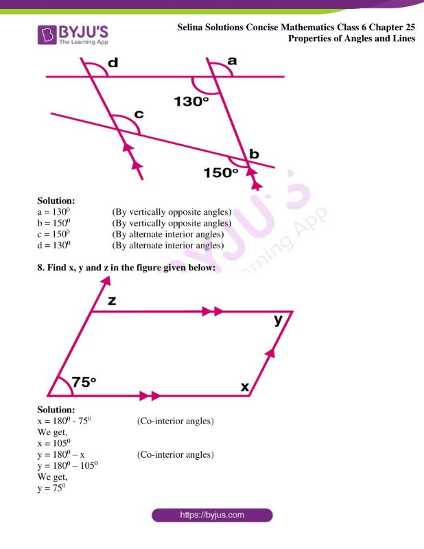 selina solutions concise mathematics class 6 chapter 25 ex b 09